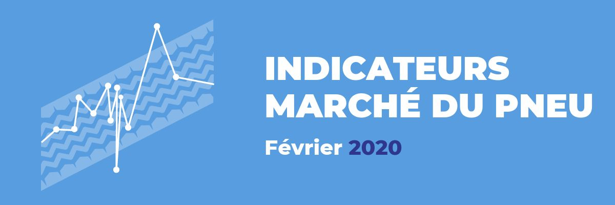 Baromètre du marché du pneu - Février 2020