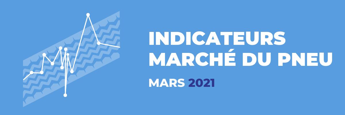Baromètre du marché du pneu - Mars 2021