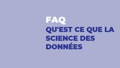 Qu'est ce que la science des données ?