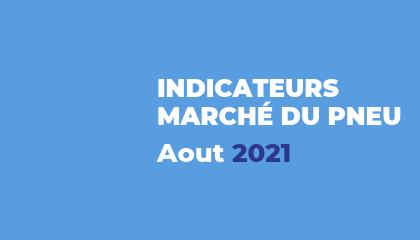 Baromètre du marché du pneu - Aout 2021