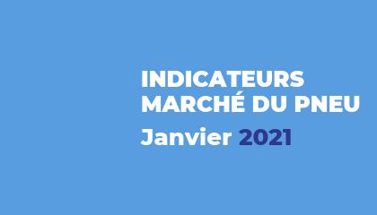 Baromètre du marché du pneu - Janvier 2021
