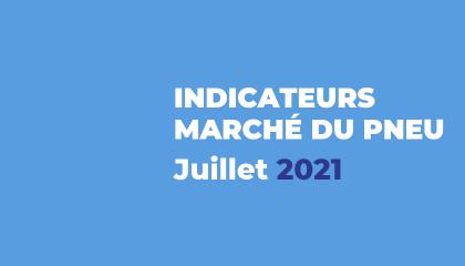 Baromètre du marché du pneu - Juillet 2021
