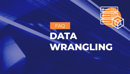 What is data wrangling vs data preparation?